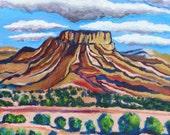 original acrylic on canvas, southwest landscape