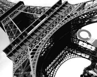 5 x 7 Eiffel Tower Industrial Structure Print