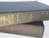 Antique Book - The Making of English Literature (1924), Vintage Book, Literature, Early 1900's