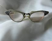 Vintage 1950s Cat Eye Glasses