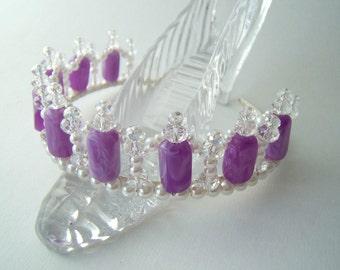 Childs Purple Tiara