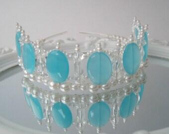 Child's Turquoise Tiara