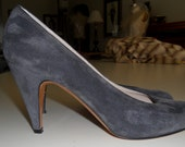 Ferragamo Shoes Pumps Heels 7AA Vintage 1975