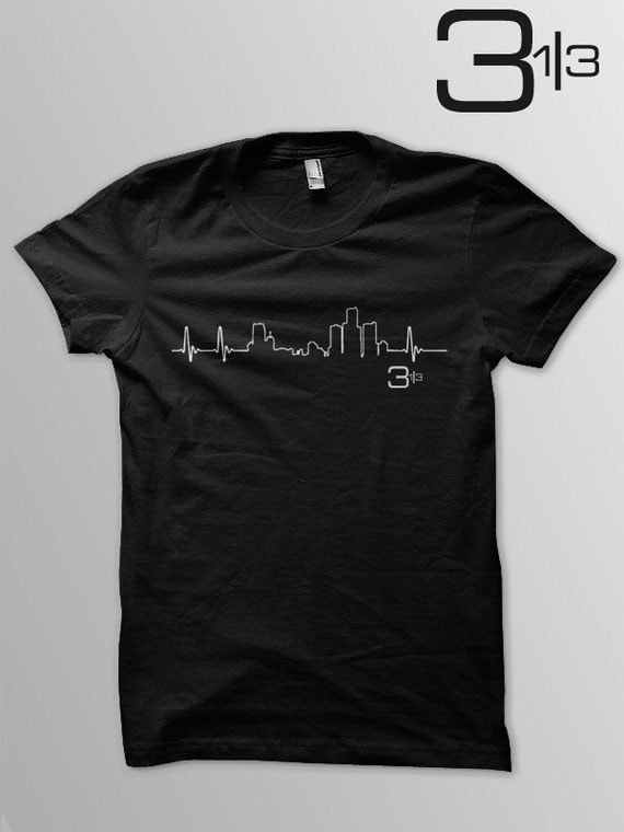 Heartbeat of Detroit t-shirt.  Show off your love for the Motor City