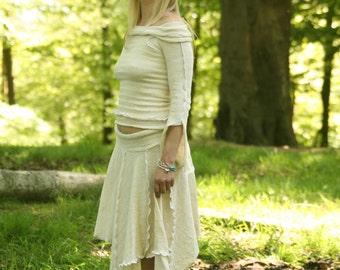 Long Pixie point Skirt