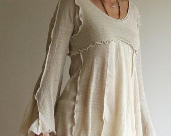 Long Sleeve Slip / Tunic Dress
