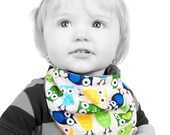 You pick YOUR 3 FAVOURITE PRINTS - Toadally awesome Bandana Bibs