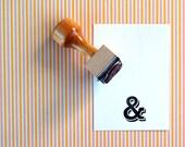 Ampersand - Rubber Stamp