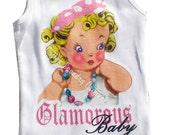 tank tee shirt tshirt kids romper one piece childrens tshirt, tank or onesie Glamorous Baby...1,324 views