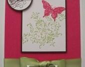 Butterfly Bliss Card