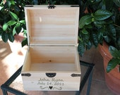 Baby Shower Card Box Holder -- Extra Large Treasure Trunk