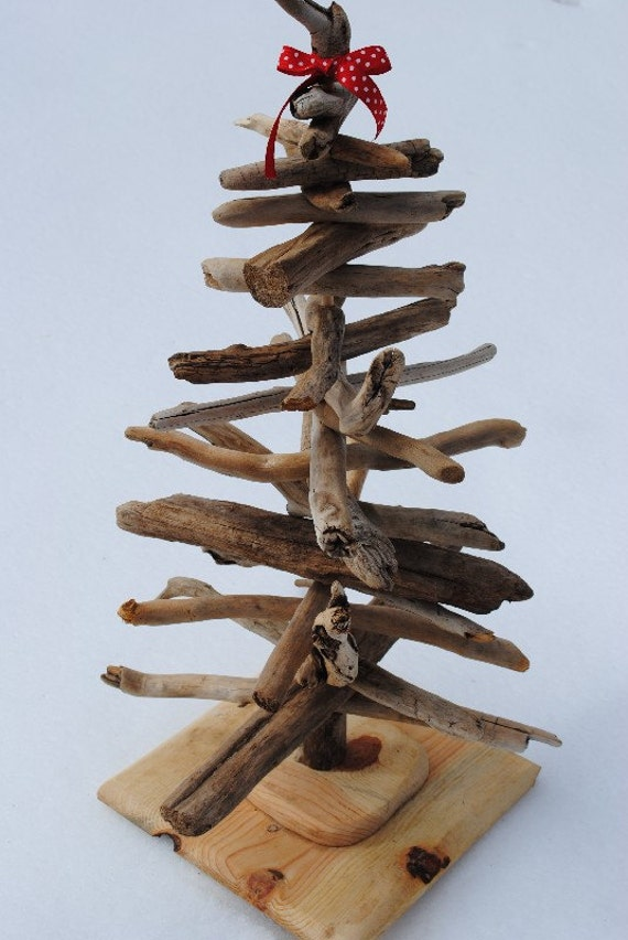 Driftwood Christmas Tree Made From Sustainable By Naturallyaspen
