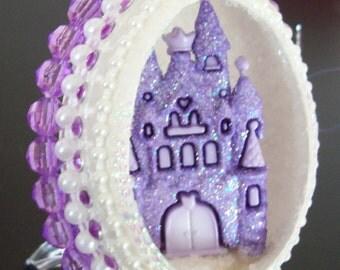 Princess Castle egg by Aimee Aiggs