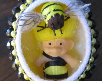 Bumblebee Troll egg by Aimee Aiggs