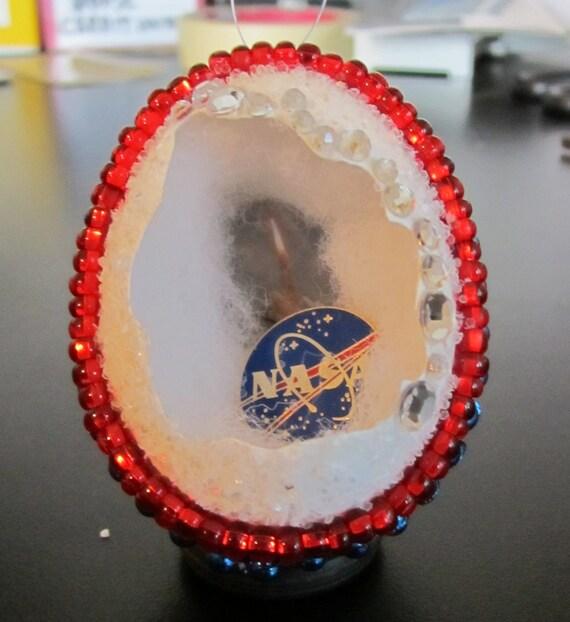 Space Shuttle egg by Aimee Aiggs