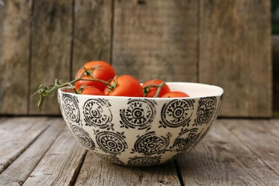 Grand bol à fruit/ Large fruit bowl