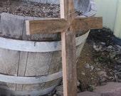 Barn Wood Cross, 2ft tall
