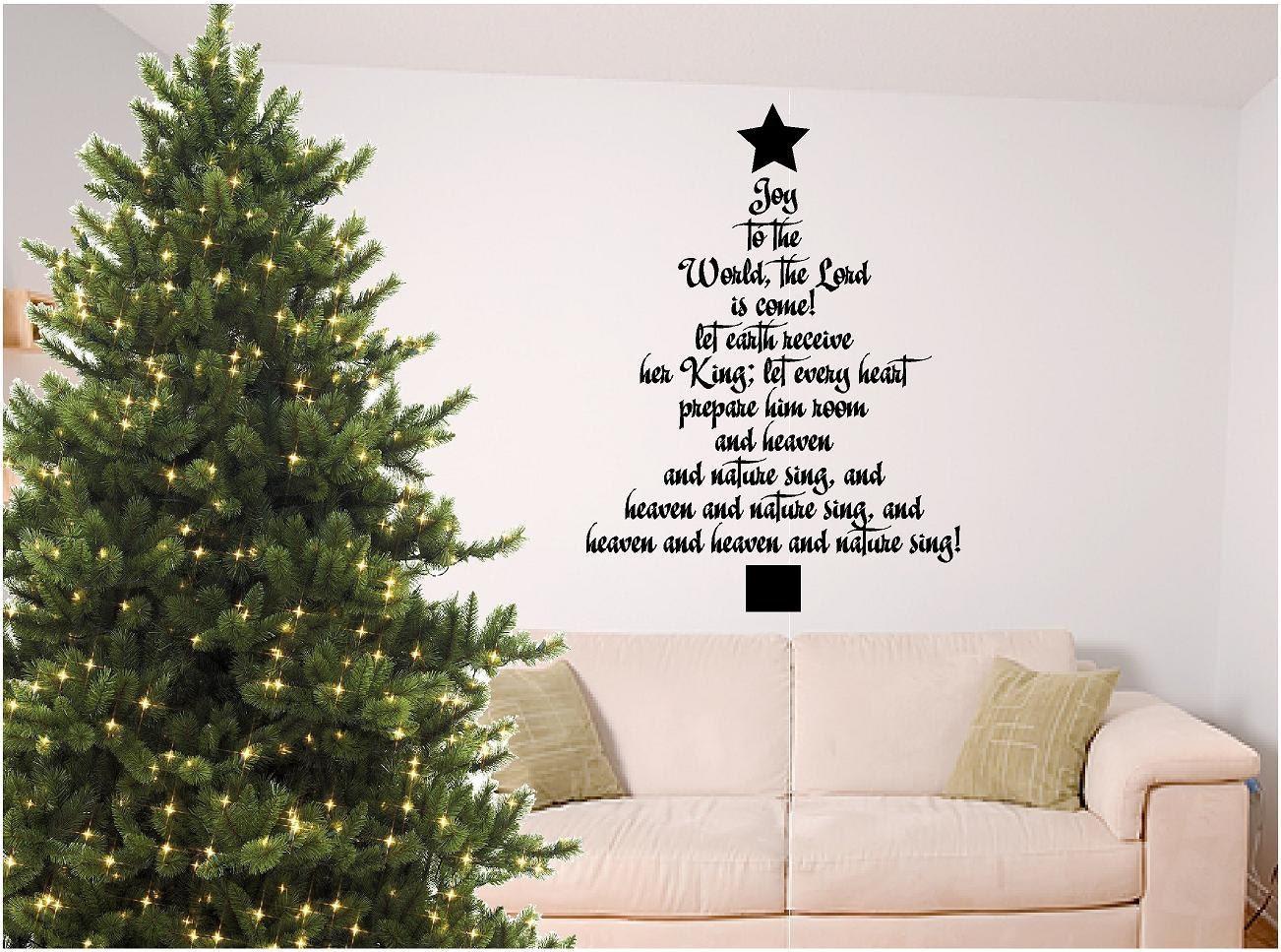Superieur Christmas Bible Verse Wall Art Joy To The World