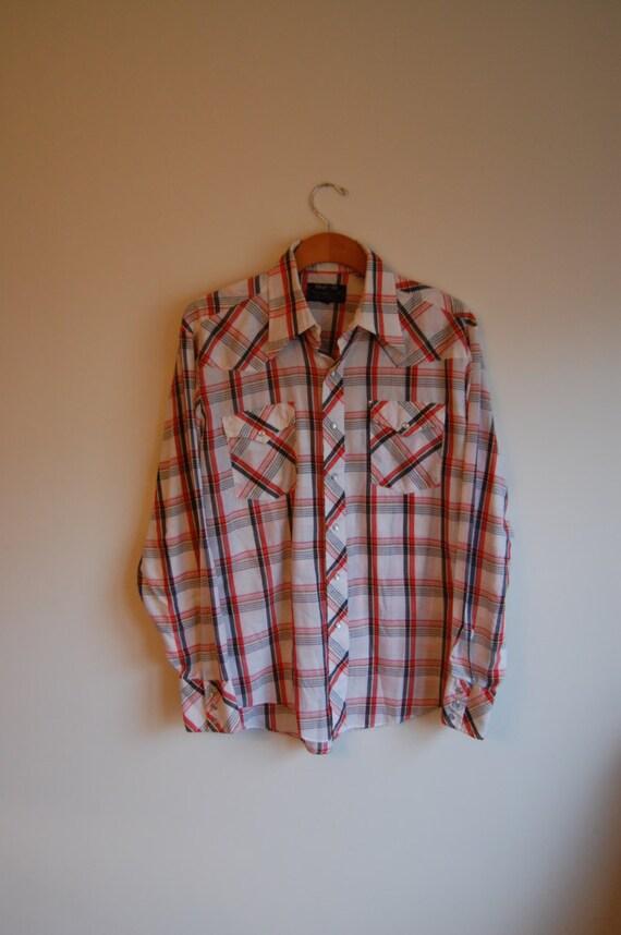 Vintage authentic western wear shirt