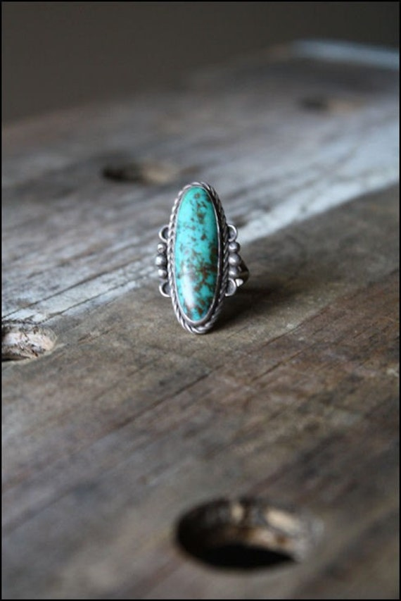 Native American turquoise ring