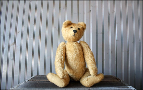 reserved//mohair teddy bear