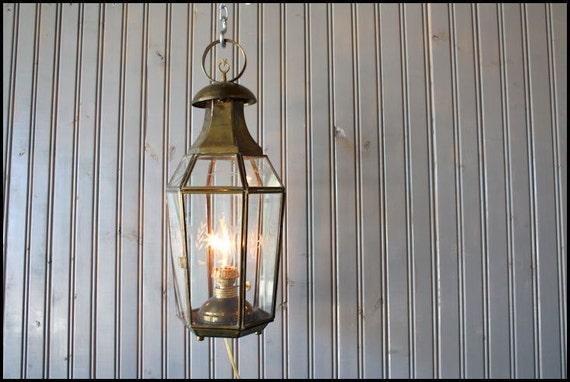 Hanging Lantern // Garden Art