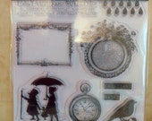 Dance in Sunshine Clear Stamps by Glitz-SALE