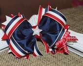 Fun 4th of July Bow