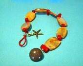 Orange Beach Bracelet