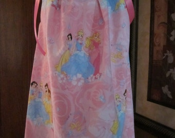 Boutique Pillowcase Dress Princesses Snow White Cinderella Belle Aurora 2T, 3T, 4T, 5, 6, 7