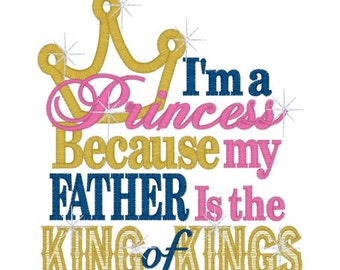 Princess Father is King T shirt