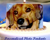 Personalized Photo Pendant and Ball Chain