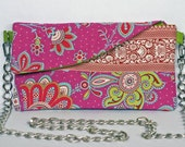 GIPSY STYLE Double use Purse with chain and pouch