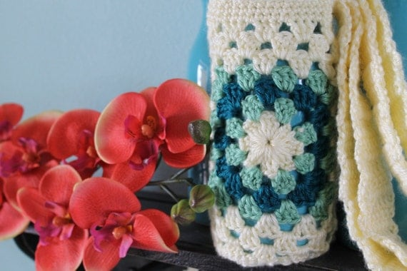 Instant Download - CROCHET PATTERN PDF - Water Bottle Holder  - Permission To Sell Finished Items