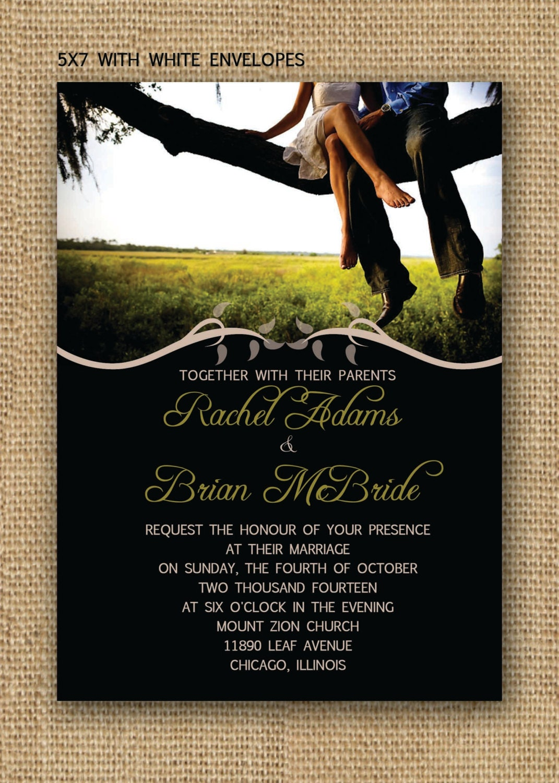 Simple Love Wedding Invitation Set By FPStationery On Etsy