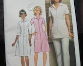 Vintage Simplicity 5268 Dress, Tunic and Pants. Professional Uniform.