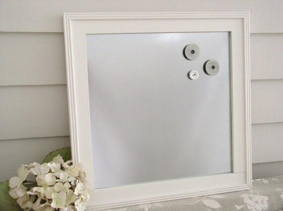Snap MAGNETIC BULLETIN BOARD Framed Memo Board in by ...