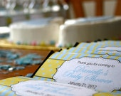 Baby Shower Chocolate Bar Wrapper for favors or candy buffet- you choose colors. You print.