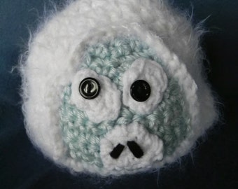 Silly Monster Snowman INVENTORY REDUCTION SALE Only One Available Ready to Ship