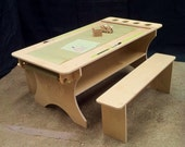 Young creators activity table