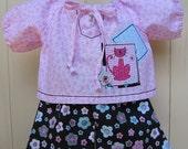 2 Piece Pink Kitty Kitty by Dolllipop Designs