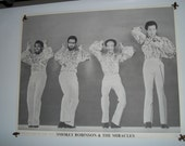Smokey Robinson and the Miracles Original Vintage Poster