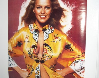 "Original Vintage 1977 ""Cheryl Ladd"" Charlie's Angels Poster"