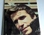 Fonzie Activity Book Vintage Colouring Book Pop Culture 1976