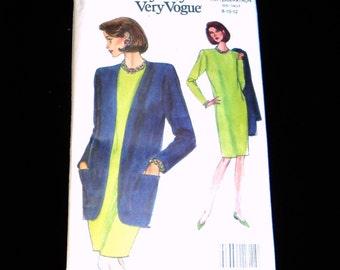 SALE - Vogue Patterns Vintage Vogue Pattern Womens Dress and Jacket  Pattern Size 8 10 12  8159