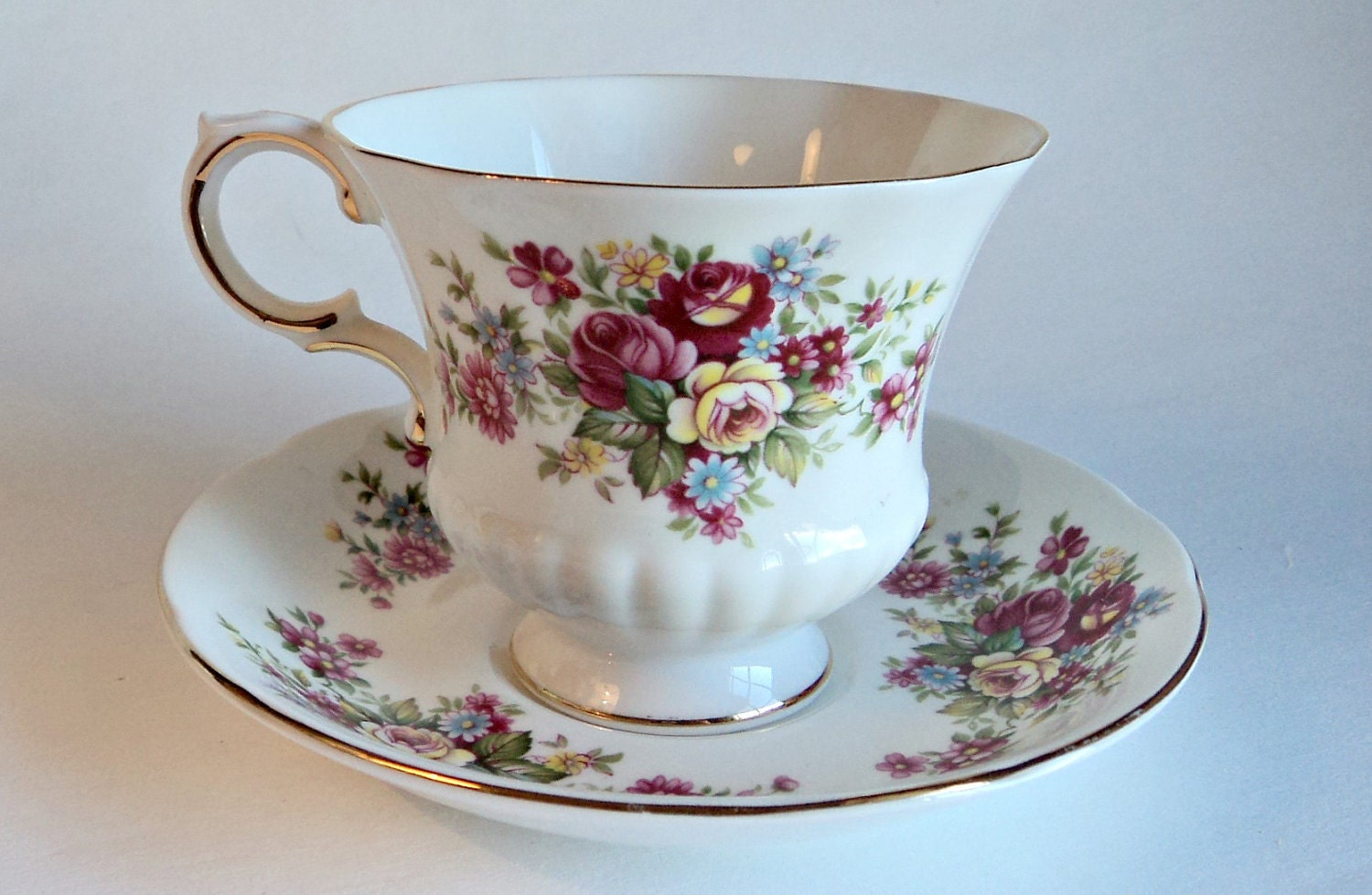 Tea Cup And Saucer Paragon Flower Festival Tea By