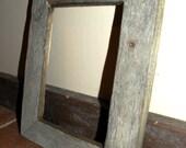 "5"" x 7"" Reclaimed Barn Wood Frame"