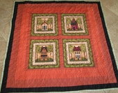 Handmade Throw Quilt Made to Order