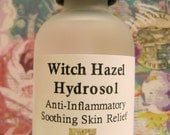 Hydrosol - Organic Witch Hazel Hydrosol - Versatile Skin Care - Sensitive, Oily, Cracked & Dry, Teenage Pimples, Anti-Inflammatory, Cleanser