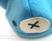 Blue bear hat